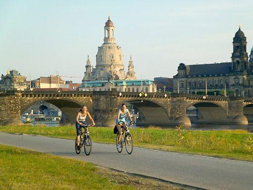 Fietsvakantie Dresden & de Elbe