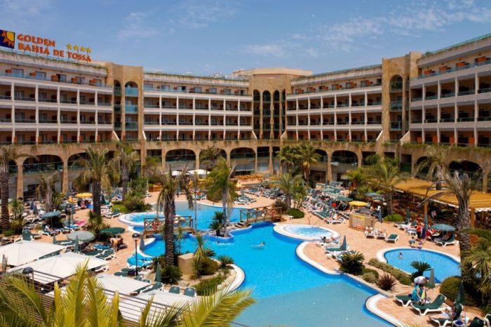 Golden Bahia Tossa Hotel